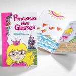 Princesses Wear Glasses Book and Dress Up Kit