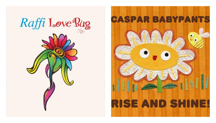 Raffi & Caspar Babypants new albums