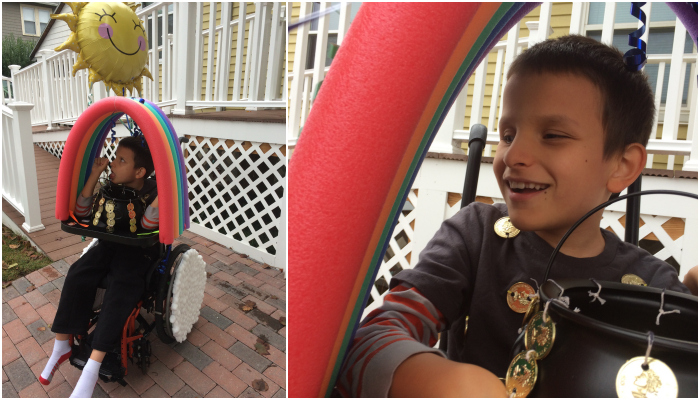 Rainbow Wheelchair Costume Wonderbaby Org