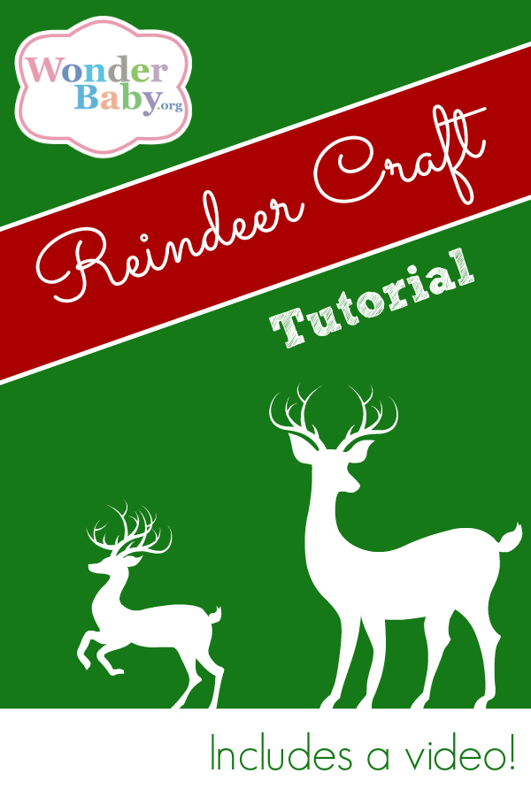 Make Your Own Hand & Foot Reindeer Ornament
