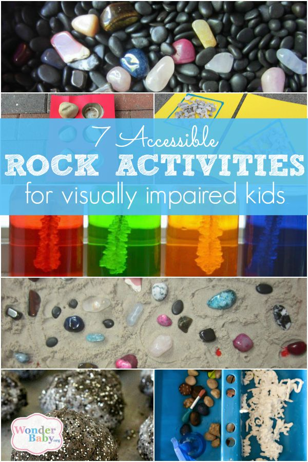 7 Accessible Rock Activities for Visually Impaired Kids