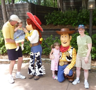 Catherine and family at Disney