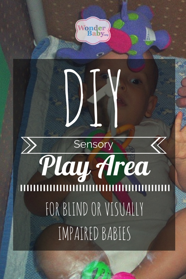 DIY Sensory Play Area for Blind or Visually Impaired Babies