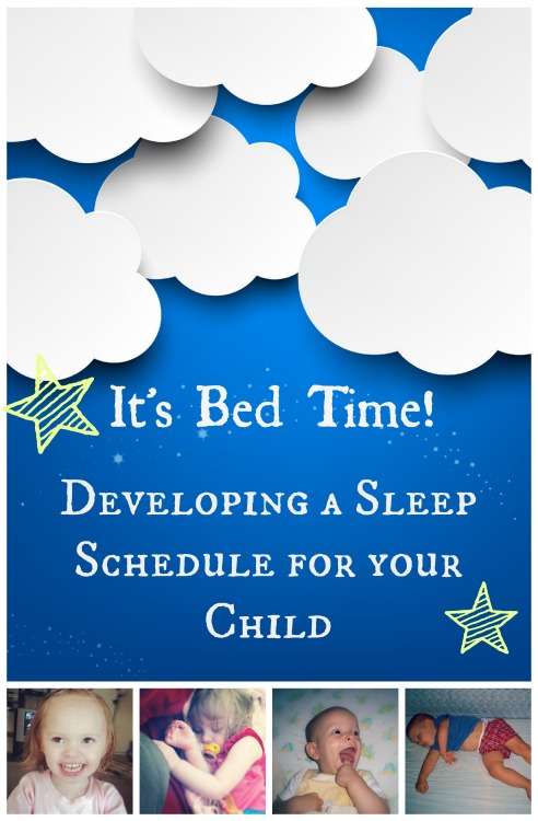 collage of kids awake and asleep