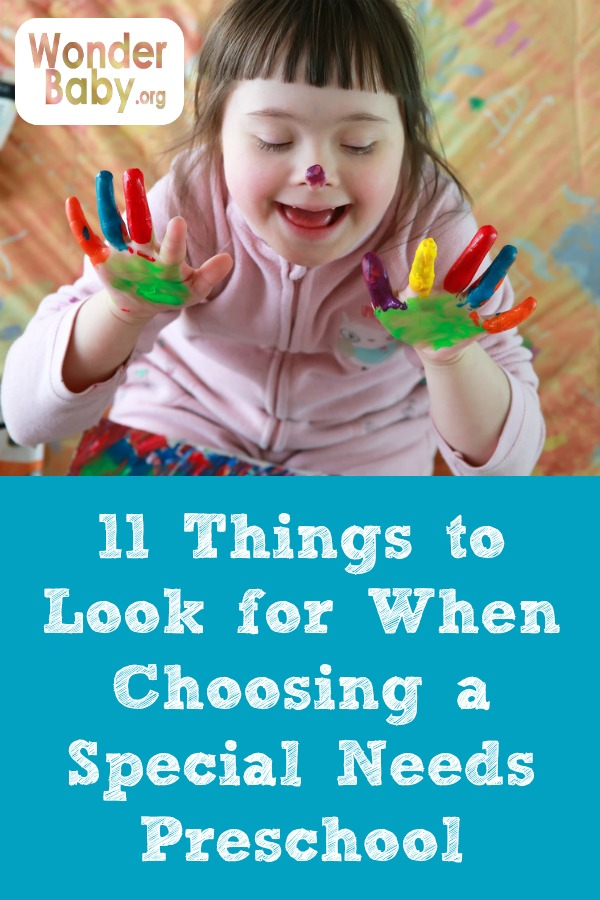 11 Things to Look for When Choosing a Special Needs Preschool