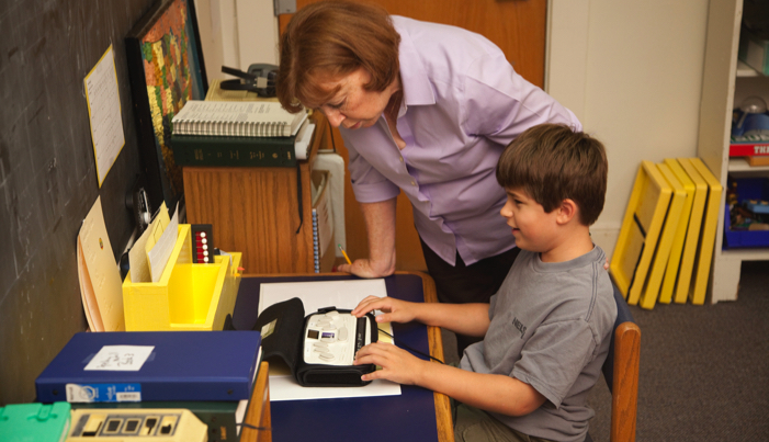 Classroom Design Aids Student Learning ~ Introducing your blind child to a new teacher wonderbaby