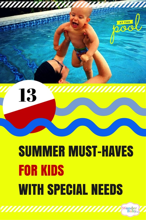 13 Summer Must-Haves for Special Needs Kids