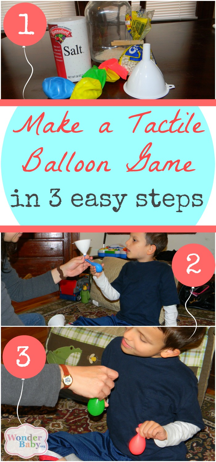 How to make your own tactile balloon game