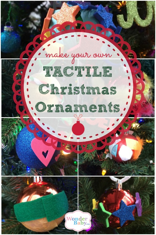 Make Your Own Tactile Christmas Ornaments!