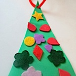 tactile christmas tree project