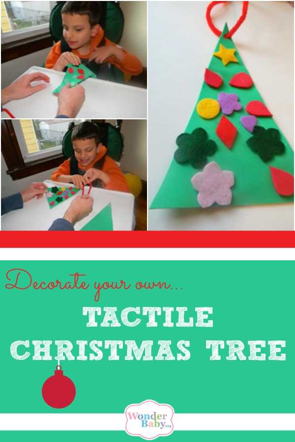Make Your Own Tactile Christmas Tree!