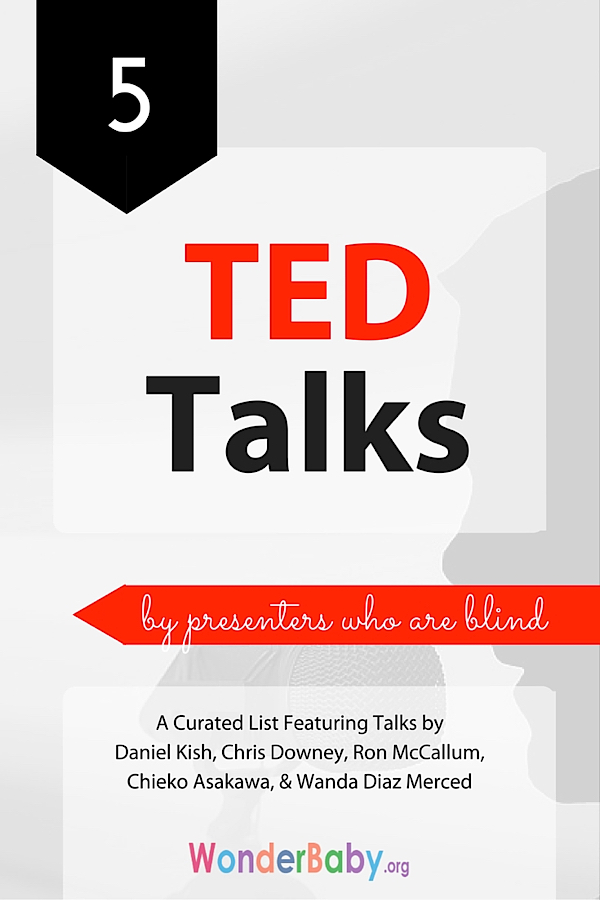5 TED Talks by Presenters Who Are Blind