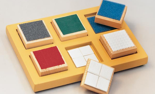 Textured Matching Blocks
