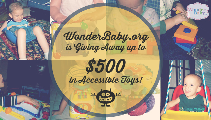 Accessible Toy Giveaway!