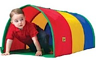Multi-color Tunnel Play Structure