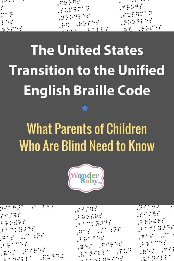UEB is the USA's Official Braille Code