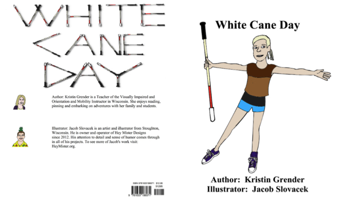 Book cover for White Cane Day