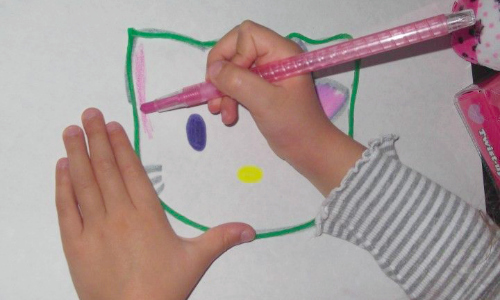 drawing with wikki stix