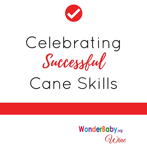 Celebrating successful cane skills
