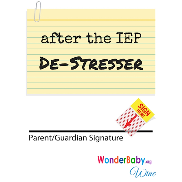 After the IEP destresser