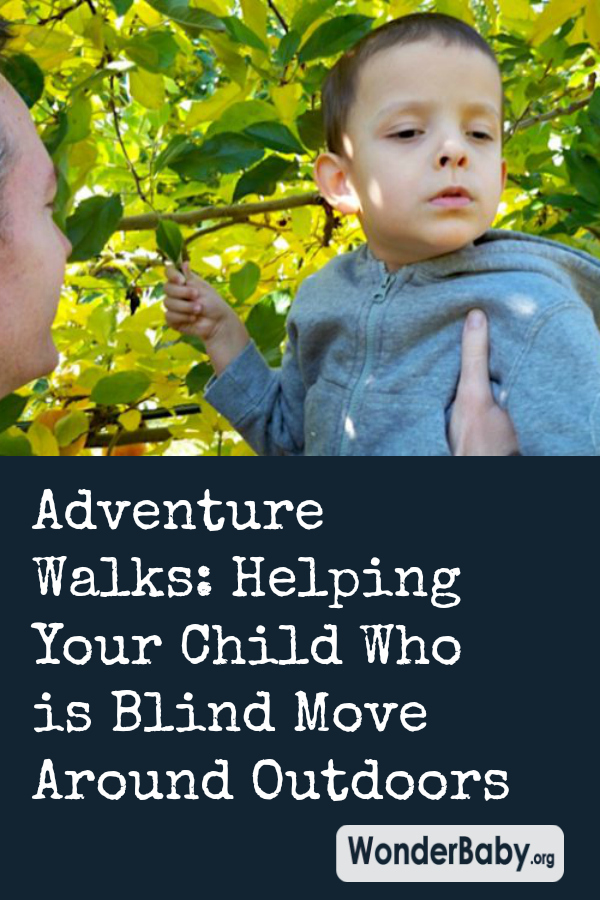 Adventure Walks: Helping Your Child Who is Blind Move Around Outdoors