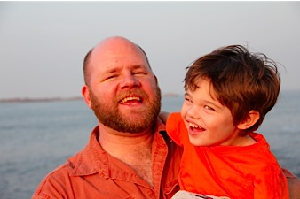 Eric with his son, Jake