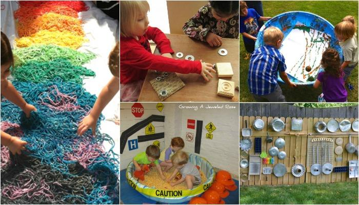 How To Host A Sensory Play Party For Visually Impaired