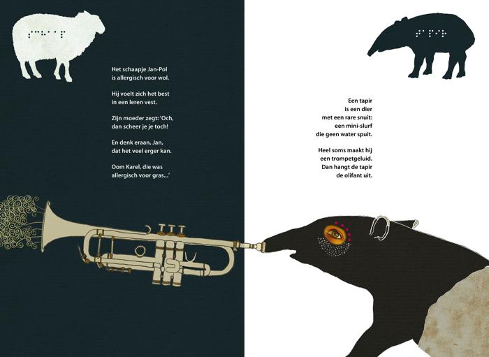 Snizzly Snouts tapir print