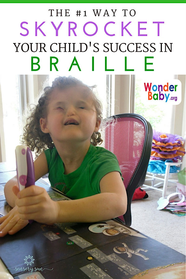 The #1 Way to Skyrocket Your Child's Success in Braille