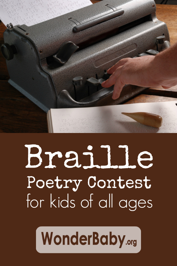 Braille poetry contest