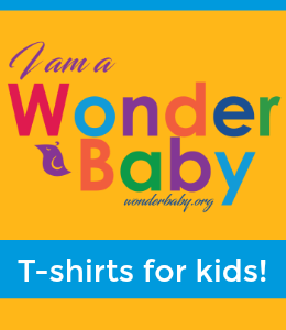 buy I am a WonderBaby kids' t-shirts