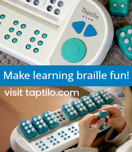 Taptilo makes learning braille fun!