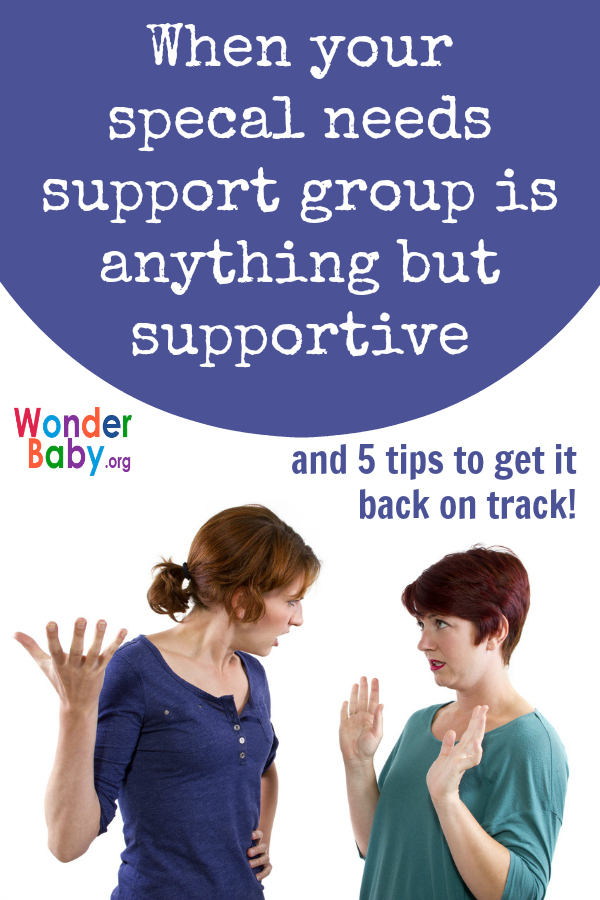 When Your Special Needs Support Group is Anything but Supportive