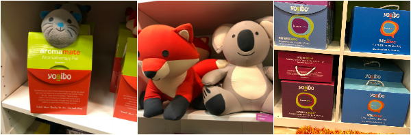Plush toys and other fun things you can buy at Yogibo
