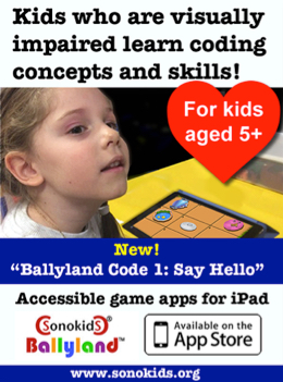 Kids who are visually impaired learn coding and concept skills!