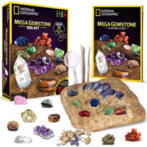 National Geographic Mega Gemstone Dig Kit
